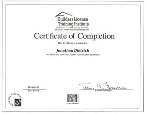 Builders License Training Institute