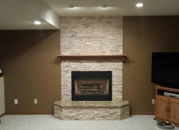 Fireplace and Mantle Update