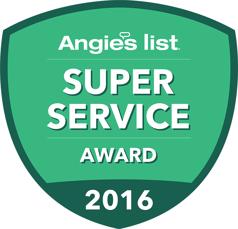 Angie's List Super Service Award Recipient 2016