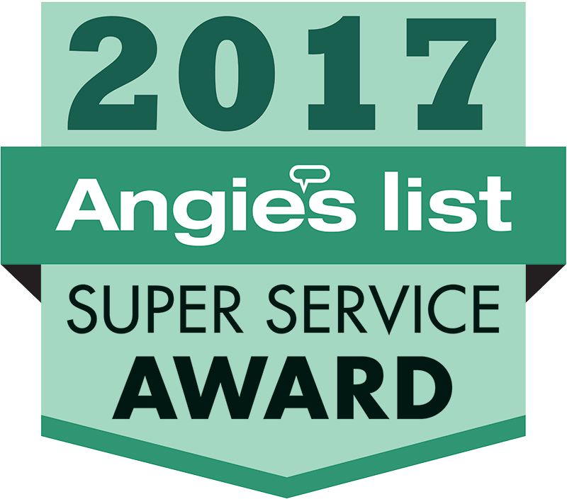 Angie's List Super Service Award Recipient 2017